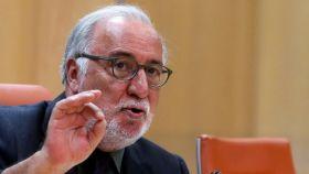 Pere Navarro, el director general de Tráfico, durante su comparecencia este martes.