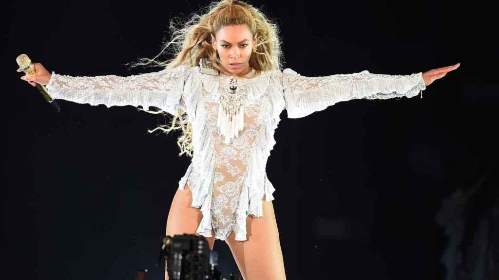 Beyoncé en un concierto en Los Ángeles.
