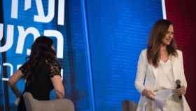 Monica Lewinsky abandona una entrevista en Jerusalén.
