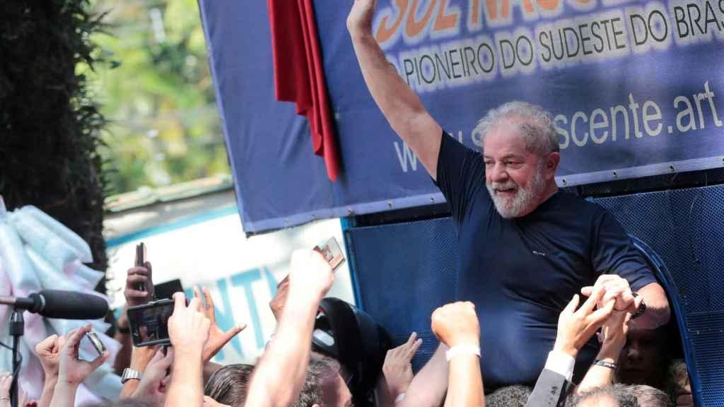 El expresidente brasileño, Lula Da Silva, en una imagen de archivo.