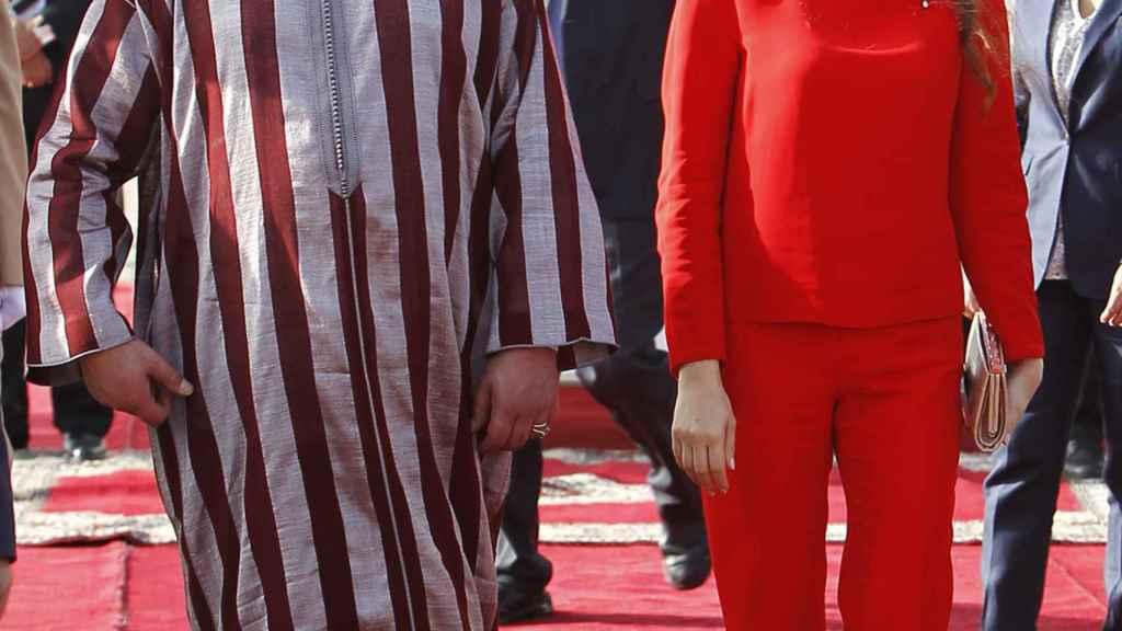Mohamed VI y su exesposa, la princesa Lalla Salma.