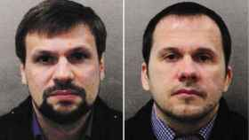 Alexander Petrov y Ruslan Boshirov, los dos sospechosos.