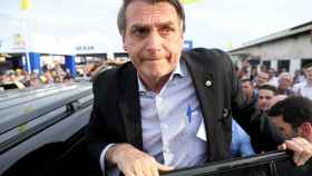 Jair Bolsonaro en una imagen del pasado agosto.