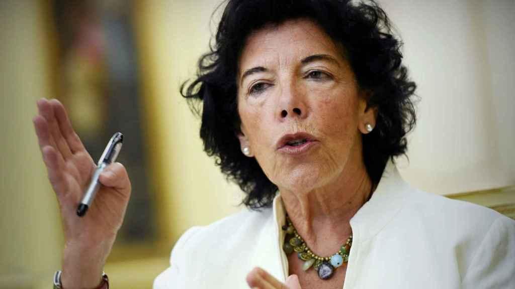 La ministra de Educación, Isabel Celaa