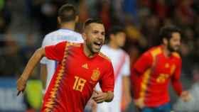 Jordi Alba con España.
