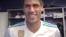 Varane habla sobre Bale