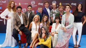 El equipo de participantes de 'MasterChef Celebrity'.