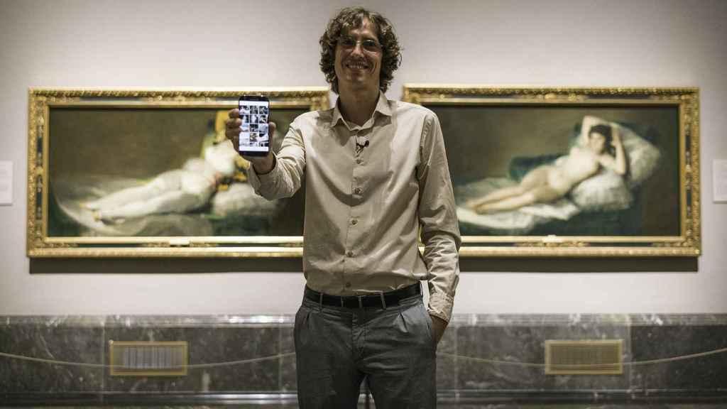 Javier Sainz de los Terreros, el único hombre que te enseña el Prado a solas.