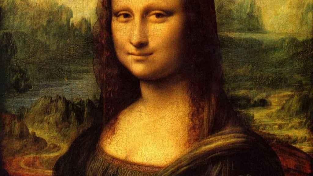 Retrato de la Mona Lisa.