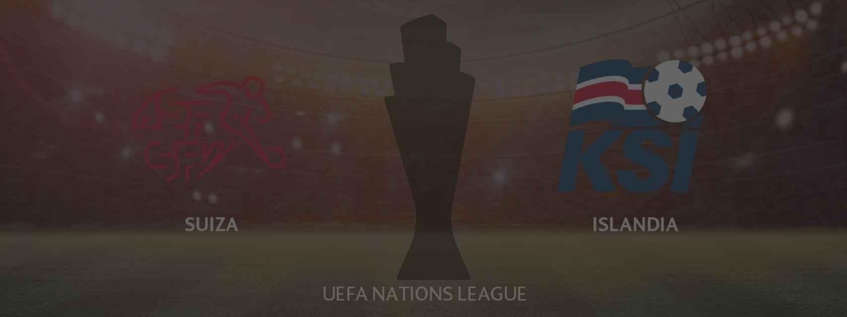 Suiza - Islandia, UEFA Nations League