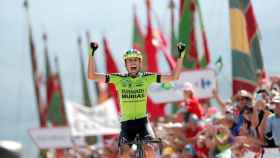 Decimotercera etapa de la Vuelta: Candás-La Camperona