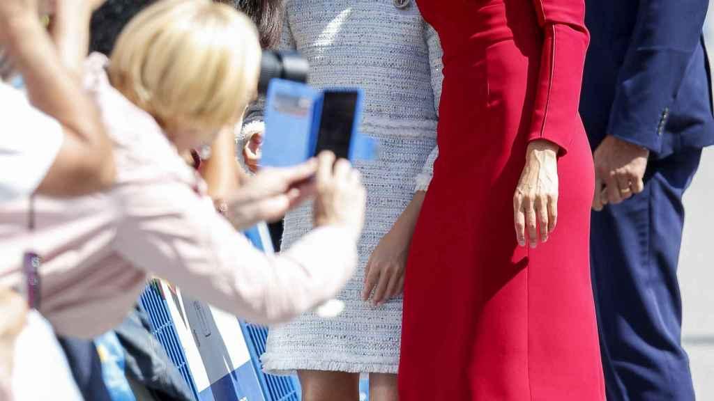 Momento 'selfie' en el 13º centenario de la fundación del Reino Asturiano