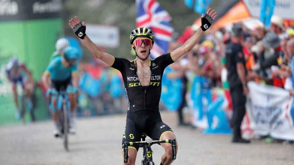Simon Yates en La Vuelta 2018