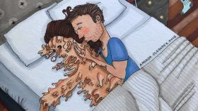 Esta ilustradora capta como nadie los dulces y no tan dulces momentos de una relación