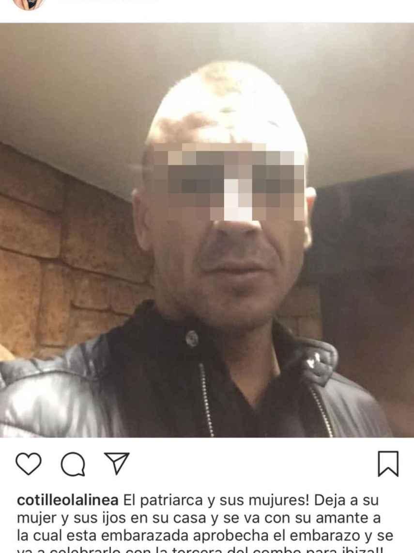 Uno de los presuntos narcotraficantes desvelados por un usuario anónimo de Instagram la semana pasada.