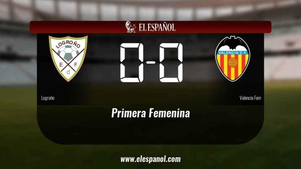 El Logroño y el Valencia Femenino sólo sumaron un punto (0-0)