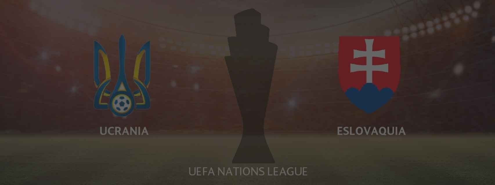 Ucrania - Eslovaquia, UEFA Nations League