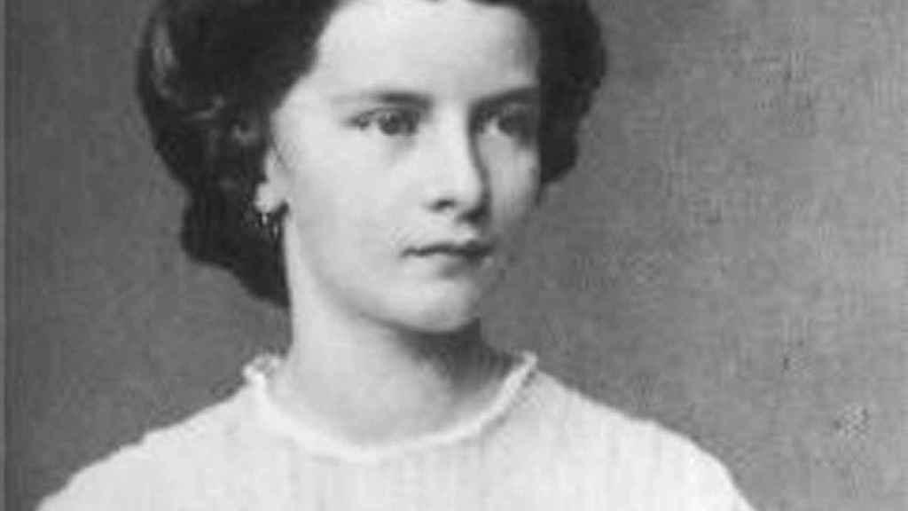 Isabel de Baviera, en su adolescencia.