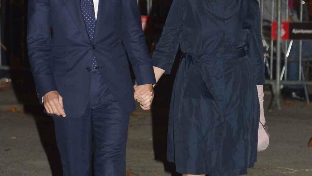 Soraya junto a su marido.