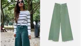 Sara Carbonero y sus pantalones en montaje JALEOS.