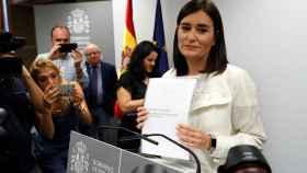 La ya exministra Carmen Montón.