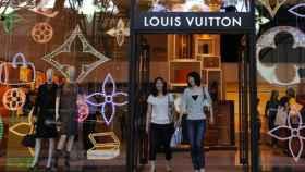 Una tienda de Louis Vuitton, en una imagen de archivo.