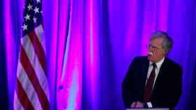 John Bolton,  asesor de Seguridad Nacional de EEUU, durante una rueda de prensa en en Washington.