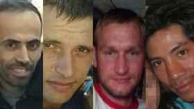 Mustafa, Laurientu Daniel, Mindaugas Petravicius y René.