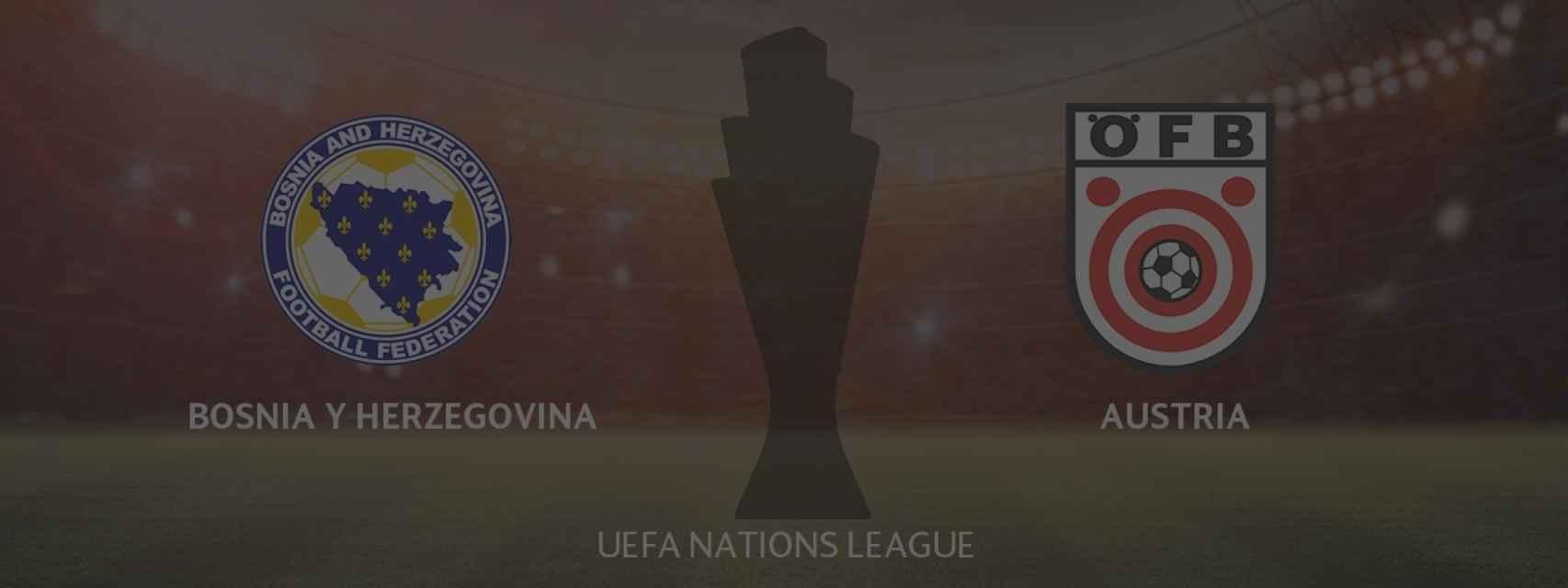 Bosnia y Herzegovina - Austria, UEFA Nations League