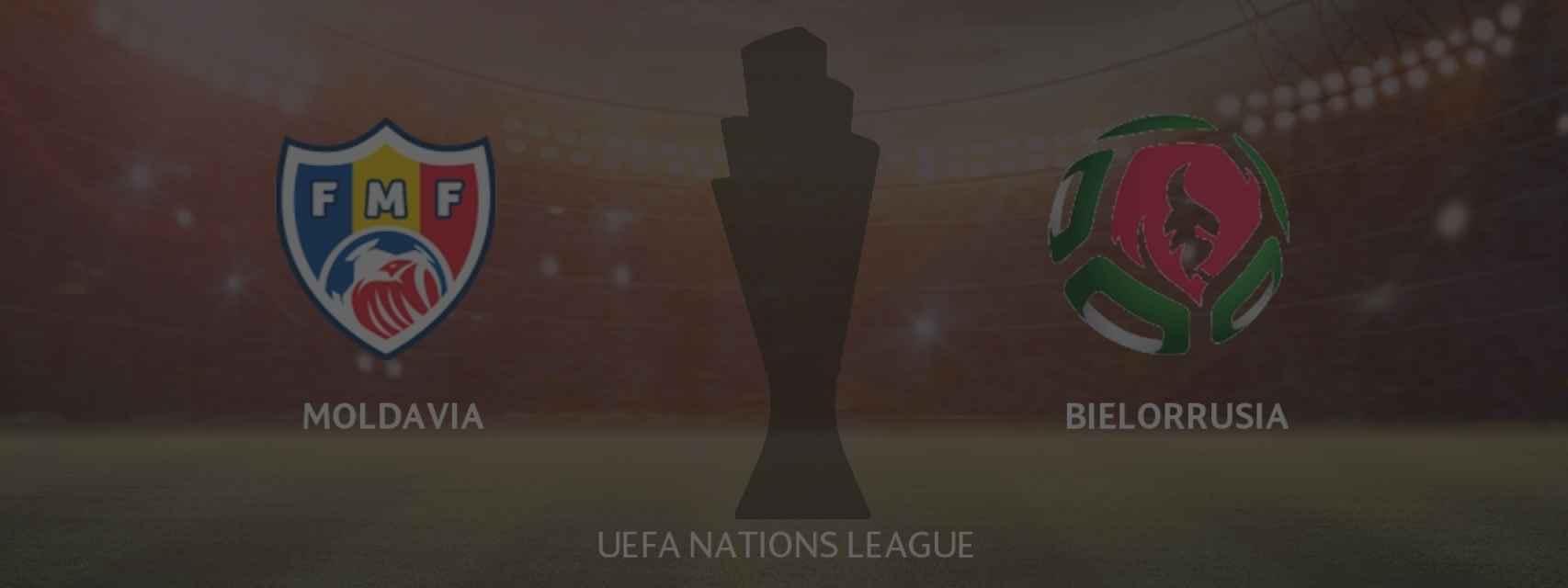Moldavia - Bielorrusia, UEFA Nations League