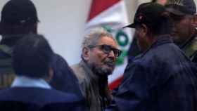 Abimael Guzmán, líder y fundador del grupo terrorista Sendero Luminoso.