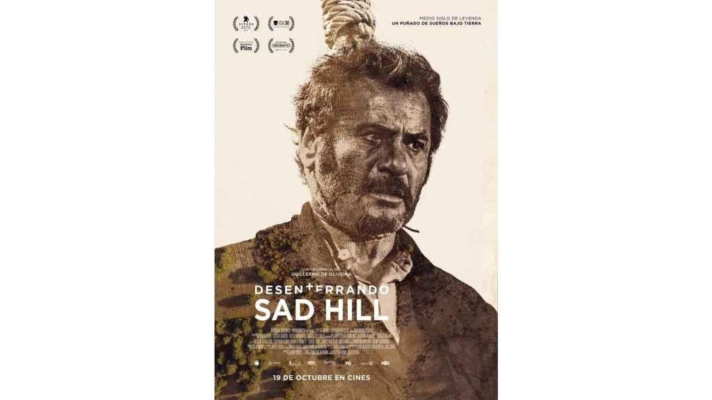 Poster de Eli Wallach en Desenterrando Sad Hill.