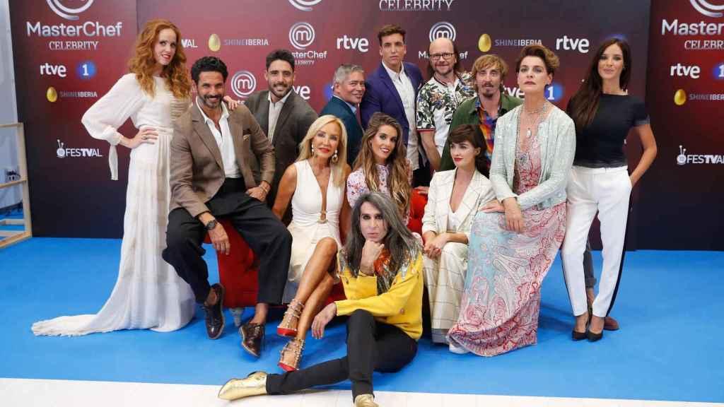 Los aspirantes de la tercera edición de 'MasterChef Celebrity'