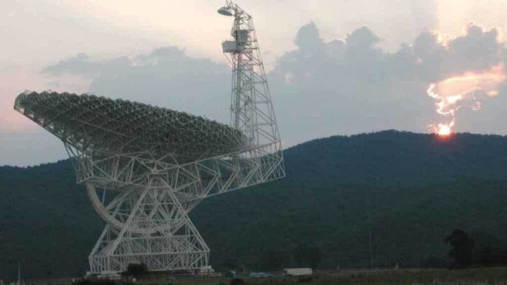 El SETI suele usar telescopios como el Green Banck en EEUU para buscar aliens