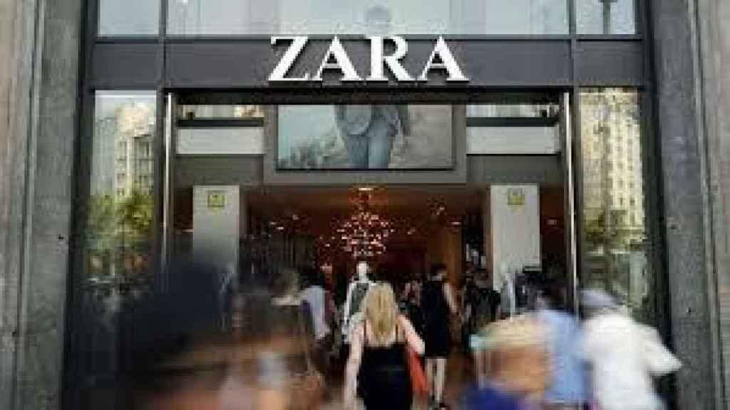 Una tienda de Zara, en una imagen de archivo.