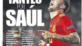 La portada del diario Mundo Deportivo (13/09/2018)