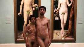 Adrián Pino y Jet Brühl, los autores del desnudo, ya intentaron la misma acción el año pasado.