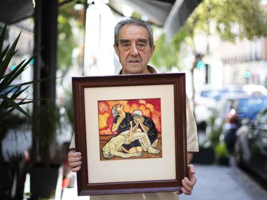 El cura Benjamín Forcano.