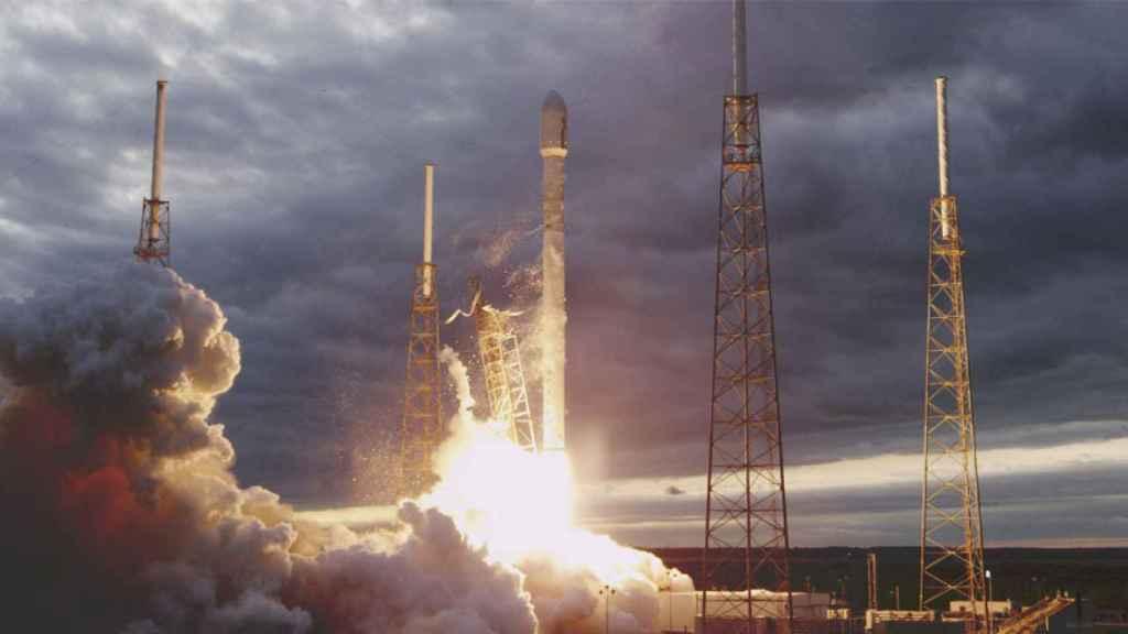 falcon 9 lanzamiento spacex