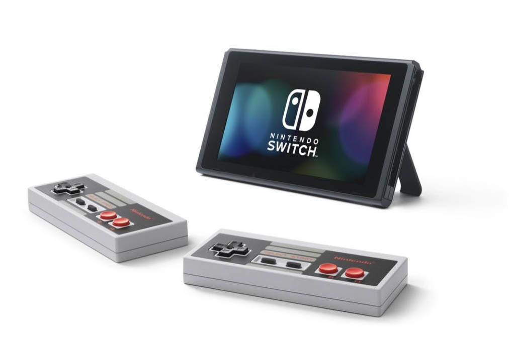 nintendo switch mandos nes controlador clasico nostalgia ambos