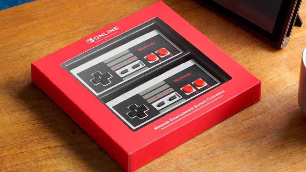 nintendo mandos nes switch nostalgia