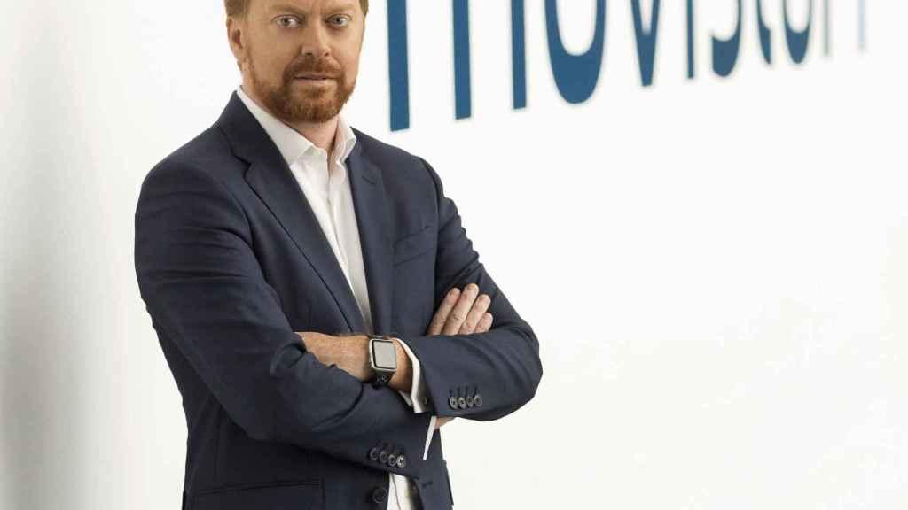 Sergio Oslé, presidente de Movistar+, en una imagen de archivo.