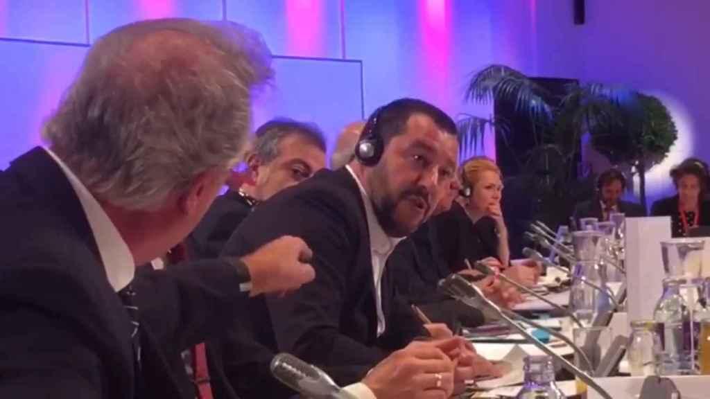 El ministro de Exteriores de Luxemburgo, Jean Asselborn, estalla contra Salvini