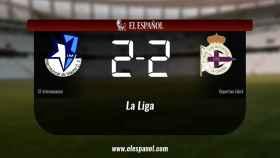 El Internacional y el Deportivo Fabril se repartieron los puntos tras un empate a dos