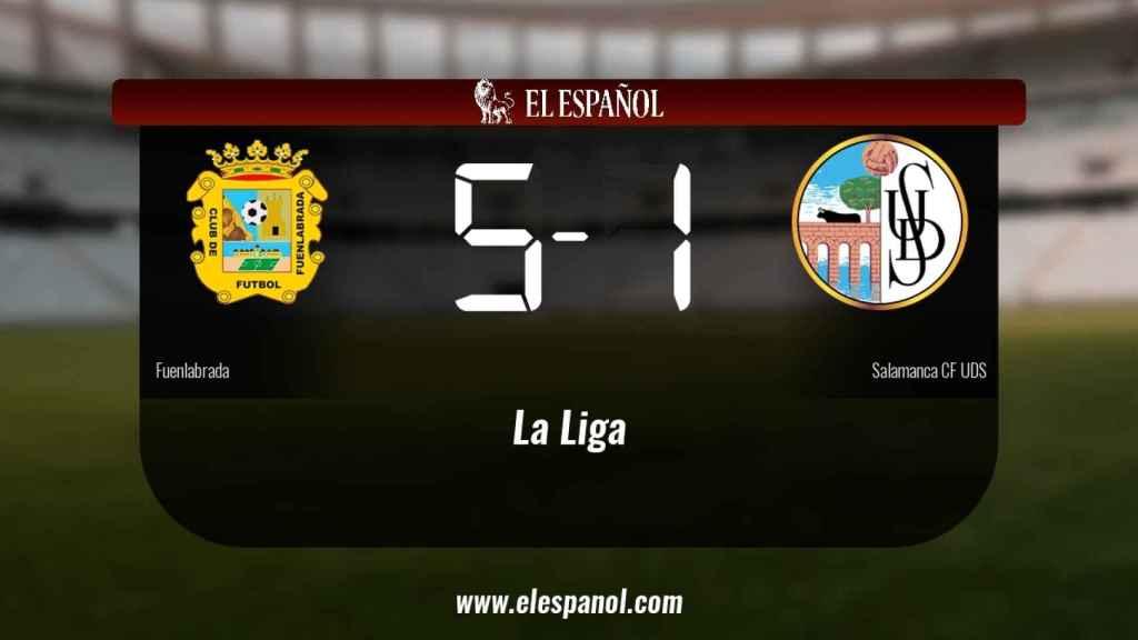 El Fuenlabrada ganó en su estadio al Salamanca UDS