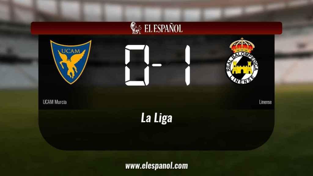 El UCAM Murcia cae derrotado ante el Linense por 0-1
