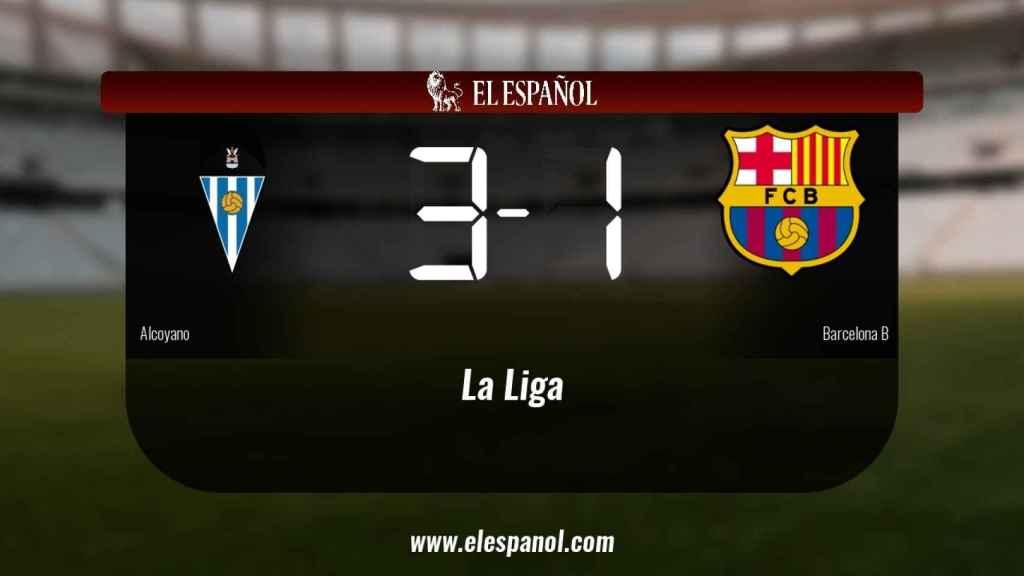 Los tres puntos se quedaron en casa: Alcoyano 3-1 Barcelona B