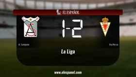 El Real Murcia vence en El Palmar (1-2)