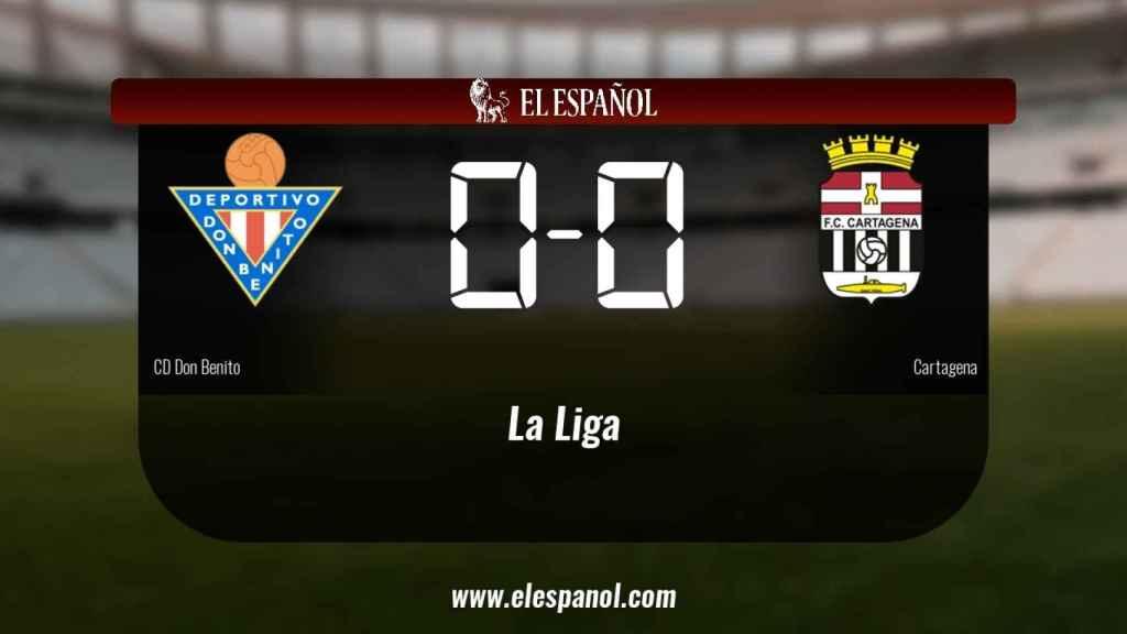 El Don Benito y el Cartagena empataron a cero