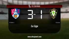Los tres puntos se quedaron en casa: Calahorra 3-1 SD Gernika